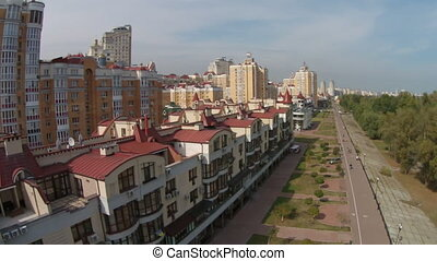 Residential area - Obolon is a municipal administrative...