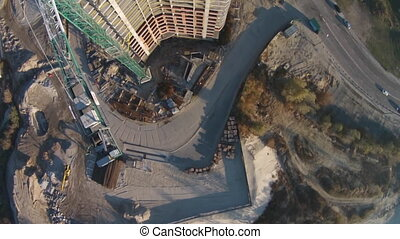 Construction of residential complex - Pozniaky - is a...