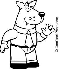 Wolf Businessman