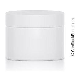Cream Jar Blank Logo - Cream jar blank a logo was a nice...