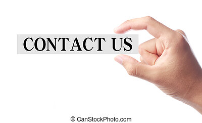 Contact Us - Business conceptual image which is about the...