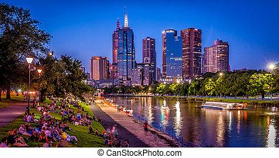 Melbourne Summer's Eve