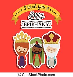 2014 11 14 GR 785 - Happy epiphany design over red...