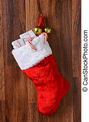 Christmas Stocking - Christmas stocking filled with presents...