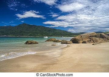 Ilha Grande - Picturesque island of Ilha Grande in Brazil,...