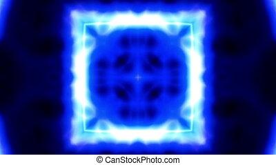 Blue Energy Abstract VJ Loop
