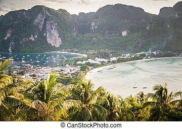 Phi Phi viewpoint in the evening