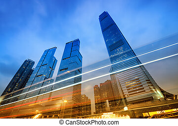 Office Buildings, Hong Kong - Office buildings...