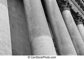 Stone Pillars and Columns