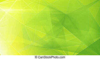 abstract triangle geometrical green - green triangles...