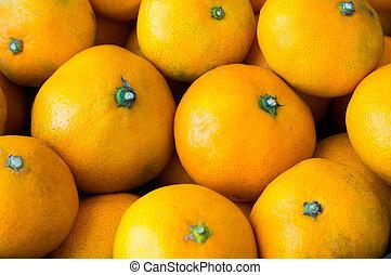 orange, Fruechte,