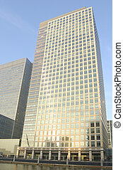 Canary Wharf - Office building at Canary Wharf in London,...