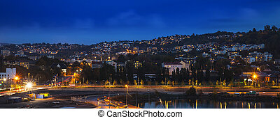 Oslo City Skyline, Norway - Oslo is the capital of Norway...