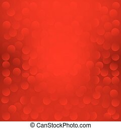 Red Christmas background. Vector EPS 10.