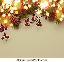 藝術, 聖誕節, 問候, 卡片,