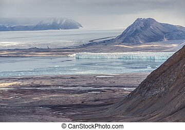 Arctic landscape - Spitsbergen, Svalbard