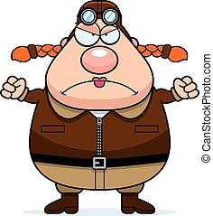 Angry Cartoon Pilot