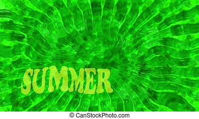Abstract background in green with