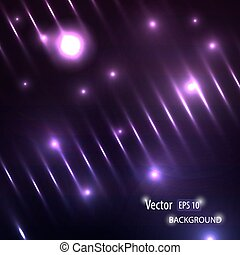 Shining lights, modern vector background