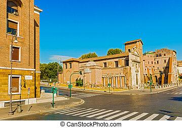 Italia,  San, roma,  carcere, iglesia,  Nicola
