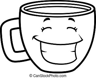 Coffee Cup Smiling