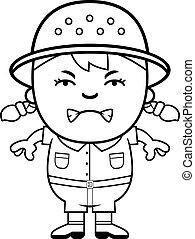 Angry Girl Explorer
