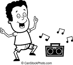 Child dancing Vector Clipart Royalty Free. 6,580 Child dancing clip ...
