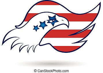 American Eagle Flag logo