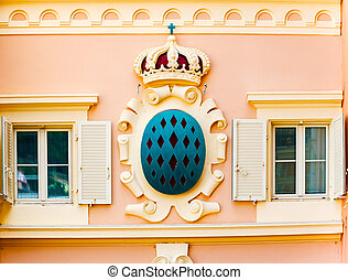 Details of Monaco - Architectural Detail from Monaco main...