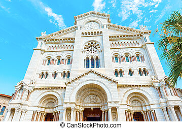 Monaco Cathedral - Monaco, Old Ville, Monaco Cathedral -...
