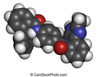 Conivaptan hyponatremia drug molecule Inhibitor of...