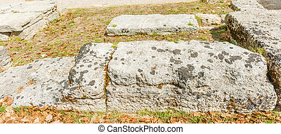 Ruins in Olympia, Greece - Place were Olympic flame is...