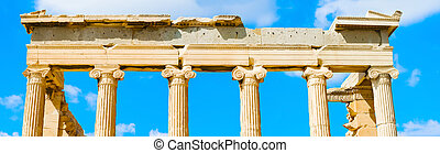 Temple of Athena Nike in Greece