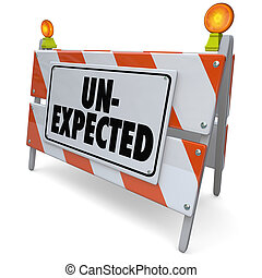 Unexpected Surprising Development Shocking Road Barrier -...