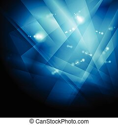 Dark blue shiny technology background. Vector design