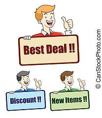 Best Deal sign