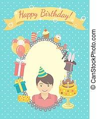 Happy Birthday Card for Boy