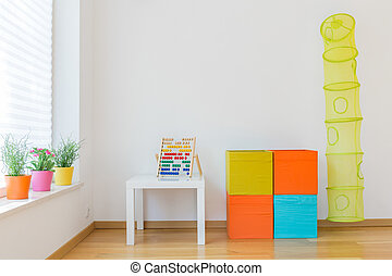 Space for children - Photo of space for children with...