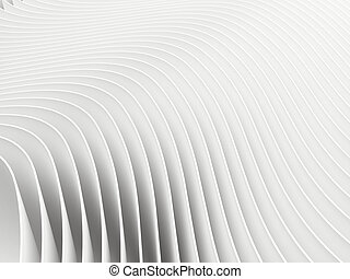 Abstract background white 3d render