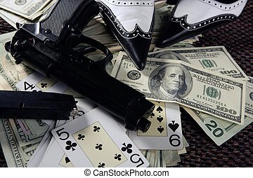 game guns and dollars, clasic mafia gangster still in low...