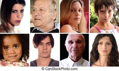 portraits - portrait of various people