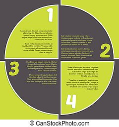 Registration mark inspired infogrpahic design - Registration...