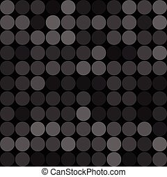 Abstract grey circles seamless pattern background. RGB EPS...