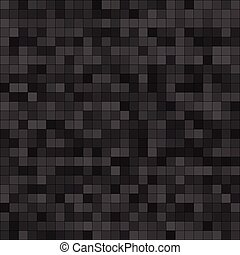 Abstract digital grey pixels seamless pattern background....