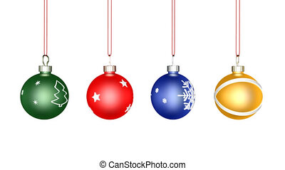 Christmas Ball Loop, alpha