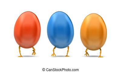 Walking Eggs Front Loop