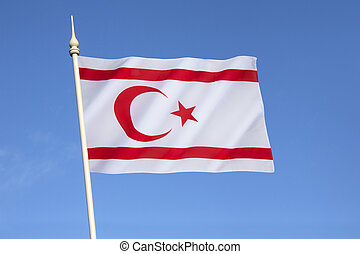 Flag of Turkish Republic of Northern Cyprus - Flag of the...