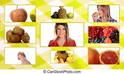 fruits and healthcare, foods composition