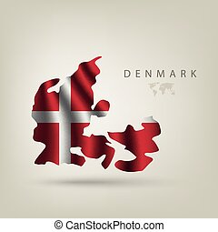Flag of Denmark as a country