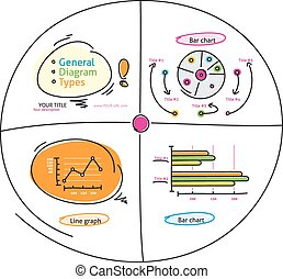 Doodle style charts graphs and plotting components - Doodle...